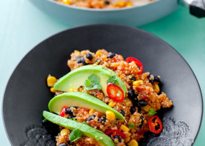 Mexican Quinoa from one saw